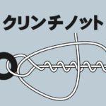 クリンチノット(ラインアイと糸の結び方)