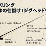 メバリングの基本【道具編】