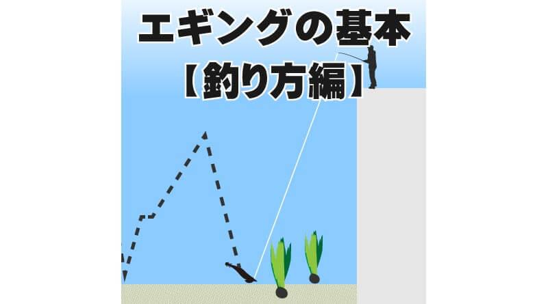 エギングの基本【釣り方編】